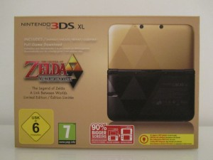 3DS XL Zelda Front