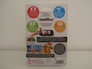 Amiibo MP10 Bowser Back