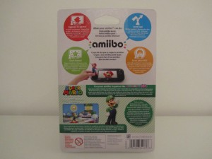 Amiibo MP10 Luigi Back
