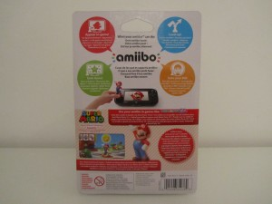 Amiibo MP10 Mario Back