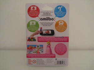 Amiibo MP10 Peach Back