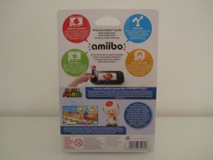 Amiibo MP10 Toad Back