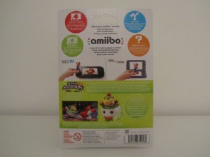 Amiibo SSB Bowser Jr. Back