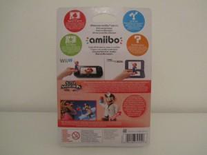 Amiibo SSB Dr. Mario Back