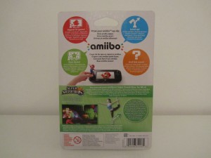 Amiibo SSB Entraineuse Wii-Fit Back