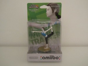 Amiibo SSB Entraineuse Wii-Fit Front