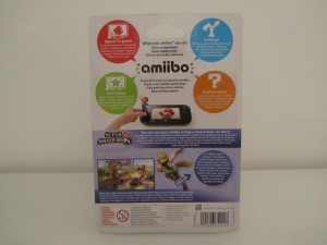 Amiibo SSB Fox Back