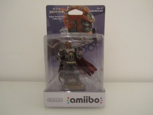 Amiibo SSB Ganondorf Front