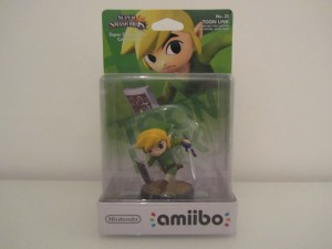 Amiibo SSB Link Cartoon Front