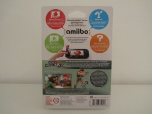 Amiibo SSB Little Mac Back
