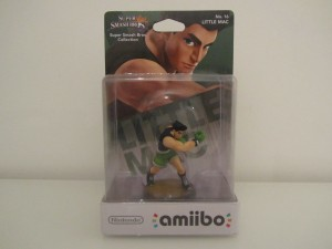 Amiibo SSB Little Mac Front