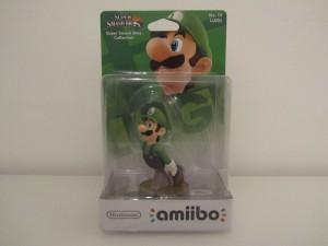 Amiibo SSB Luigi Front