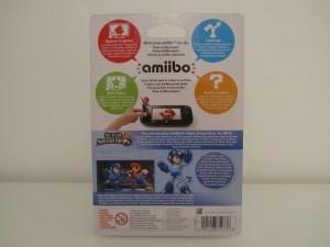 Amiibo SSB Mega Man Back