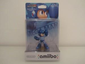 Amiibo SSB Mega Man Front