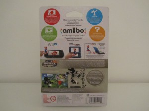Amiibo SSB Mr. Game & Watch Back