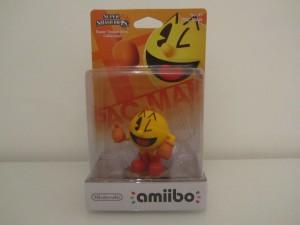Amiibo SSB Pac-Man Front