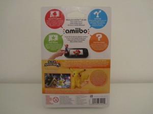 Amiibo SSB Pikachu Back