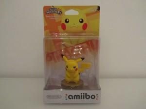 Amiibo SSB Pikachu Front