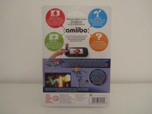 Amiibo SSB Samus Sans Armure Back