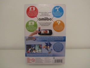 Amiibo SSB Sonic Back
