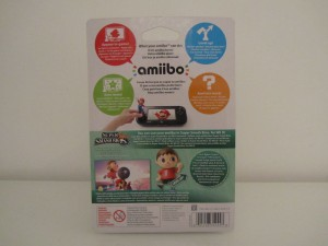 Amiibo SSB Villageois Back