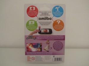 Amiibo SSB Zelda Back