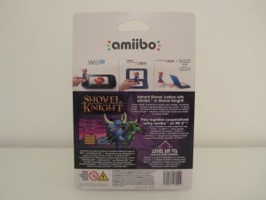 Amiibo Shovel Knight Back