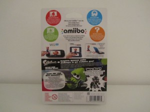 Amiibo Splatoon Calamar Back