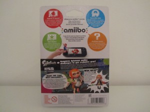Amiibo Splatoon Fille Back