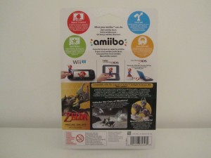 Amiibo TP HD Link Loup Back