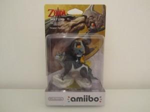 Amiibo TP HD Link Loup Front