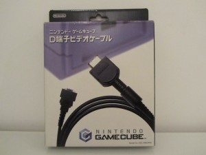 Cable VGA GameCube Front