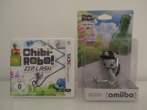 Chibi-Robo! Pack Amiibo Inside 1