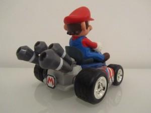Control Kart Mario Back