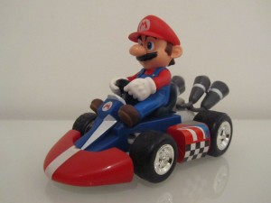 Control Kart Mario Front