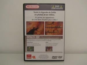DVD d'Antologie Zelda Back