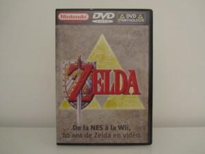 DVD d'Antologie Zelda Front