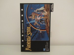 Fiche Phantasy Star Generation 1 SegaAges Front