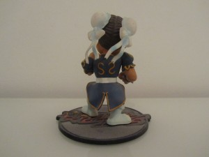 Figurine Chun-Li Back