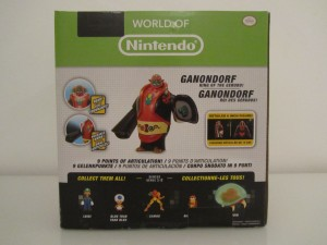 Figurine Ganondorf WON Back