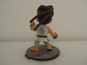 Figurine Ryu Back