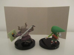Figurine Spirit Tracks Back