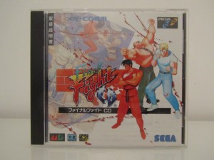 Final Fight CD Front