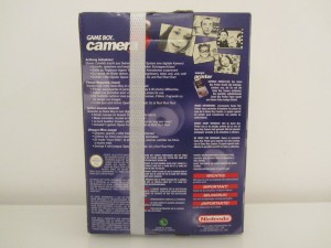 Game Boy Camera Rouge Back
