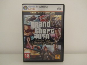 Grand Theft Auto IV Liberty City Front