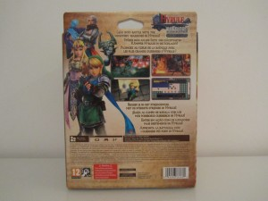 Hyrule Warriors Collector Back