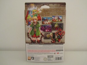 Hyrule Warriors Legends Collector Back