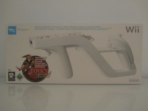 Link's Crossbow Training + Wii Zapper Front