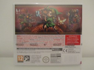 Majora's Mask 3D Back