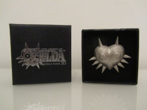 Majora's Mask 3D Badge Front